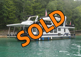 1998 Lakeview 15 x 68WB Houseboat For Sale on Norris Lake TN