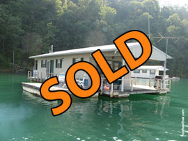 20 x 53 Homebuilt Houseboat For Sale on Norris Lake
