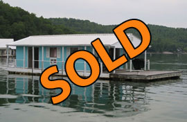 16 x 30 4-B Floating Home 460sqft For Sale on Norris Lake