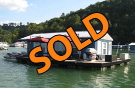 16 x 40 Floating Home Approx 640sqft 2 Bedrooms 1 Bath For Sale on Norris Lake TN at Stardust Marina