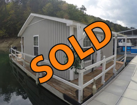 1 Bedroom Fixer Upper Project Floating House For Sale on Norris Lake