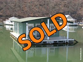 Floating Cottage For Sale on Norris Lake