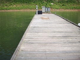 Private Docks with Shore Power & Water Available on Lake Cumberland - Contact YourNewBoat.com for Details!